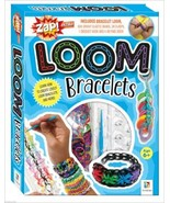 Loom Bracelets Kit with Loom Elastic Bands Clas... - $14.00