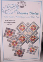 "Pattern ""Dresden Dining"" Table Topper, Runner, & Chair Pad - $4.99"
