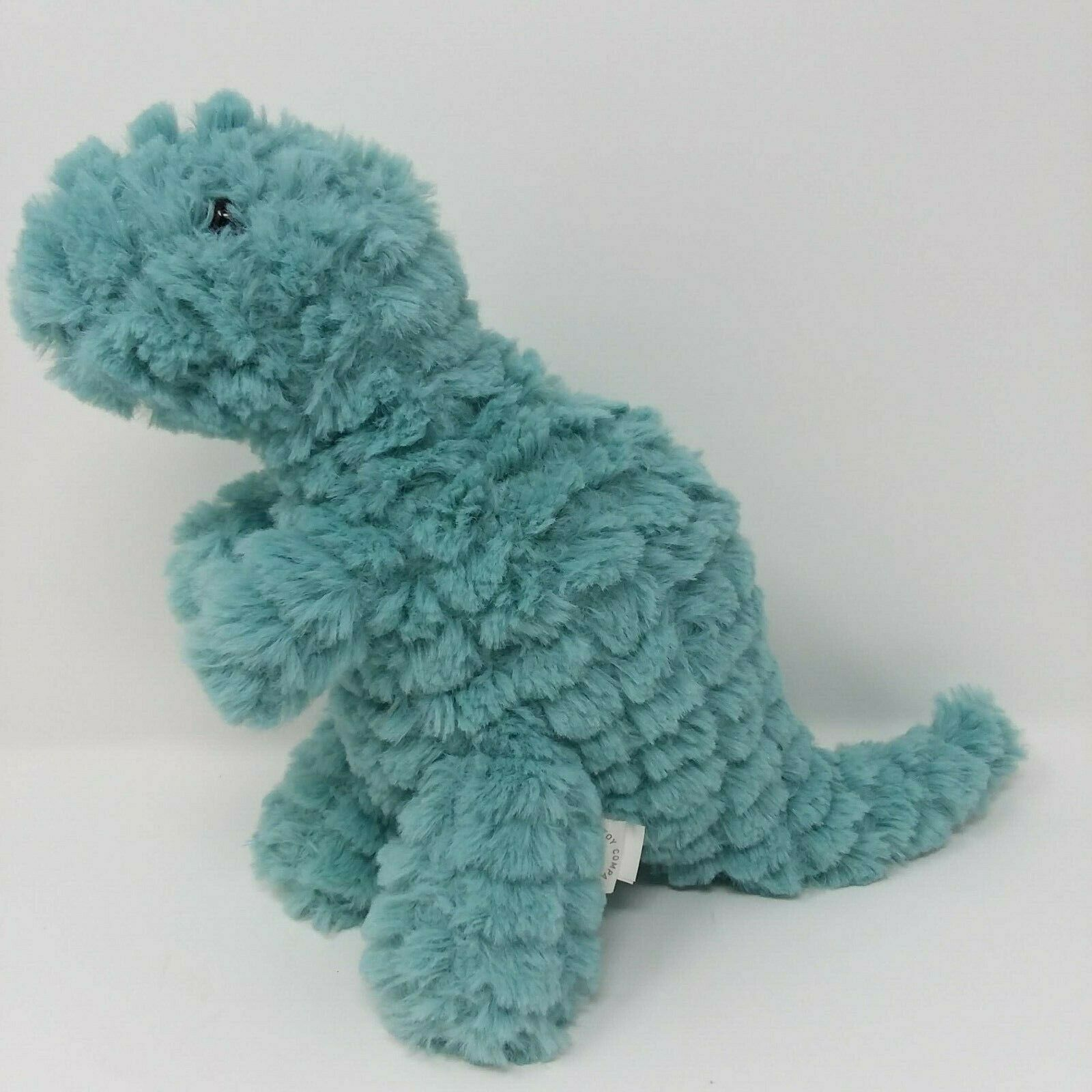Primary image for Manhattan Toy Company Plush Light Blue Dinosaur Nursery Room Decor EUC
