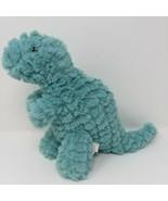 Manhattan Toy Company Plush Light Blue Dinosaur Nursery Room Decor EUC - $12.16