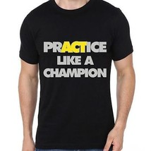 Practice Like A Champion  Half Sleeve Round-nec... - £5.59 GBP - £8.67 GBP