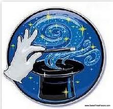 MAGIC MAGICIAN's CAKE CupCake Decoration Topper Birthday Supplies Hat Ra... - $4.90
