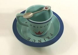 PRINCE CHILDS Bowl Cup Spoon by robinwood.boston baby collection 2003 - $74.25