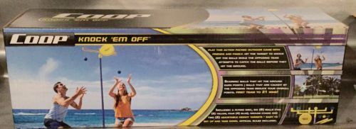 COOP Knock 'Em Off Game Set - Outdoor Backyard Flying Disc Game Set NEW