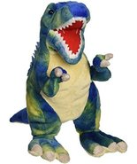 "Fiesta Toys T-Rex with Picture HT Plush, 15"", Blue - $12.82"