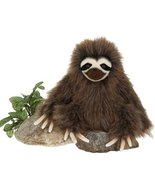 "9.5"" Three Toed Sloth Sitting Plush Stuffed Animal Toy by Fiesta Toys - $19.75"
