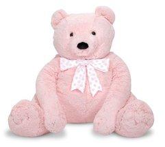 Melissa & Doug Jumbo Pink Teddy Bear - $67.82
