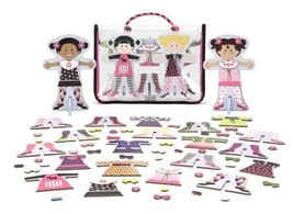 Melissa & Doug Toys - Tops and Tights Magnetic Dress-Up - $16.78