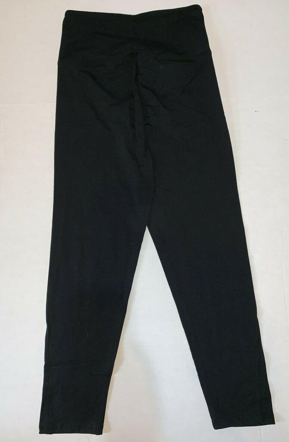 Victoria's Secret PINK Black Yoga Pants Medium