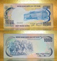 Vietnam 1972 RVN Money 1000.00 Dong Banknotes - $12.88