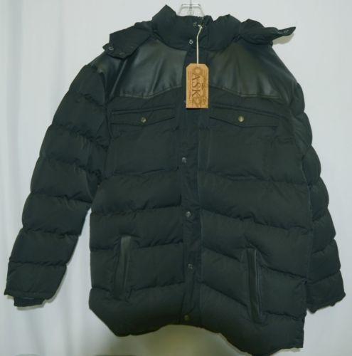 ASK JK5402C The Original Clothing Company Mens Coat Color Black Size 5XL