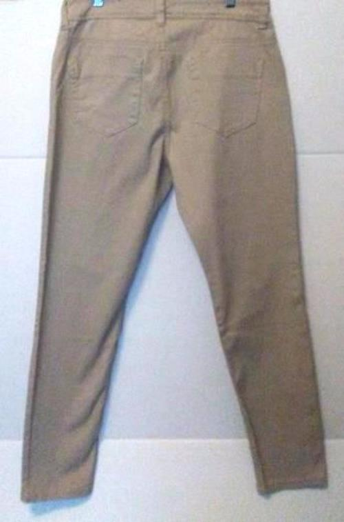 Pre-owned ROZ & ALI Women's Beige Skinny Jeans Petite Size 8 image 5