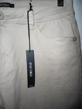 Pre-owned ROZ & ALI Women's Beige Skinny Jeans Petite Size 8 image 2