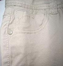 Pre-owned ROZ & ALI Women's Beige Skinny Jeans Petite Size 8 image 3