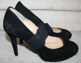 Gianni Bini Women's Black Suede Heels 8.5 1/2M ... - $29.69