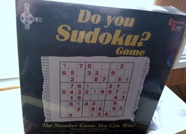 Do You Sudoku? Game University Games Solo or Team Play Puzzle Logic Home... - $10.39