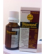 2x ADELMAR GERMANY DIACARD Homeopathic Medicine Heart Efficiency- Gold D... - $18.50