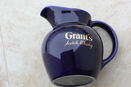 GRANT'S Scotch Pub Jug Liquor Advertising Water Pitcher Made by Wade Eng... - $39.59