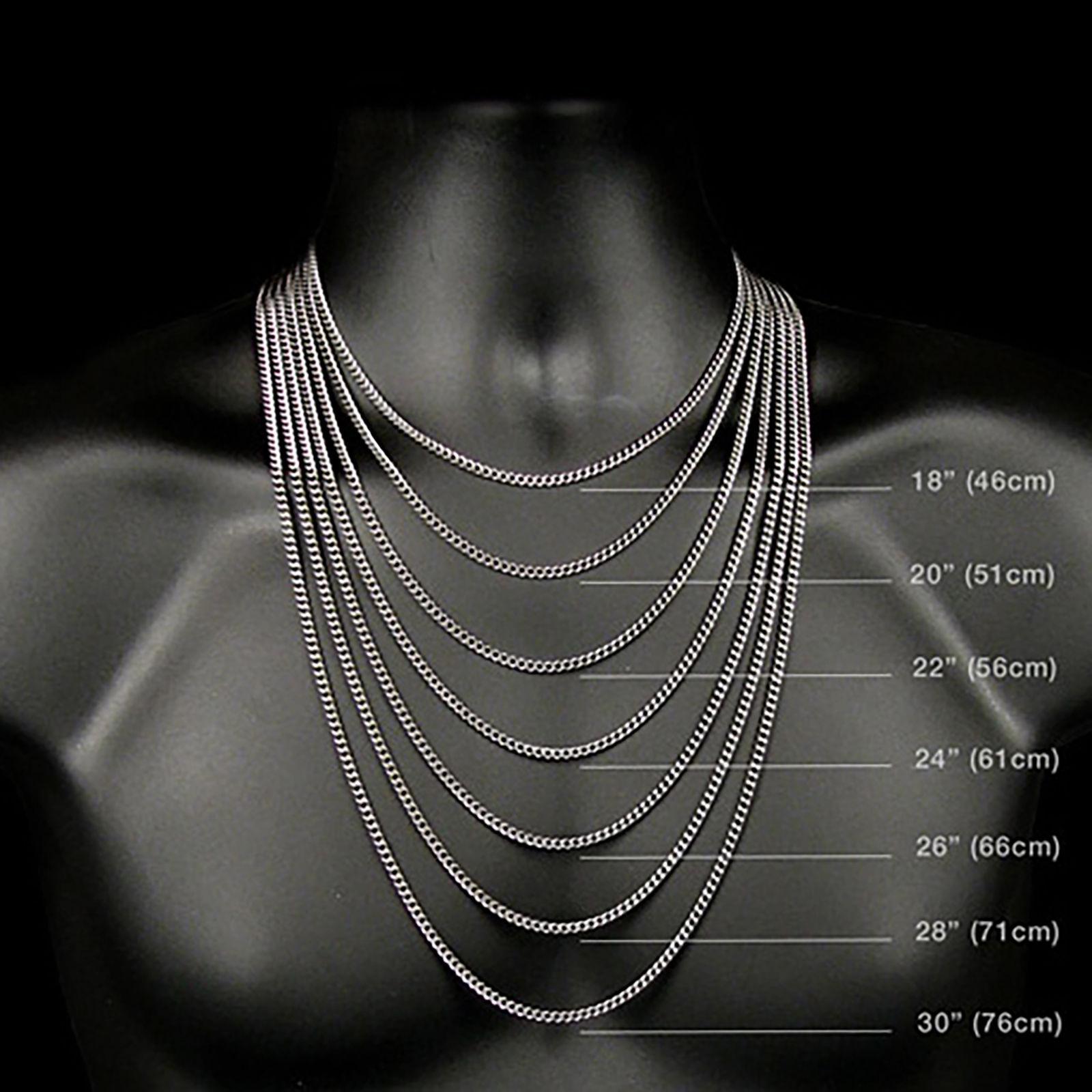 "Mens Gold Tone Micro Two Row CZ Cross Pendant 1.5mm/24"" Box Chain Necklace"