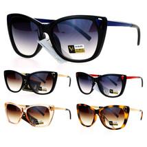 VG Eyewear Cat Eye Hallow Tip Hinge Womens Butterfly Sunglasses - $12.95