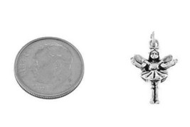 STERLING SILVER 3D CLEVER TOOTH FAIRY CHARM - $8.00+