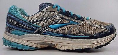 Brooks GTS 13 Women's Running Shoes Size US 11 M (B) EU 43 White 1201231B444