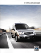 2012 Ford TRANSIT CONNECT sales brochure catalog US 12 XL XLT Taxi  - $8.00