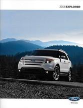 2012 Ford EXPLORER sales brochure catalog US 12 XLT Limited - $6.00