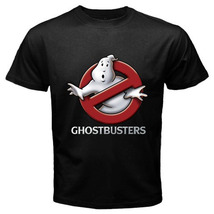 Ghostbusters Logo Game Serial Movie Retro Tee Mens Black T-Shirt All SIz... - $16.90+