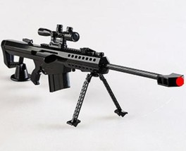M82A1 Barrett sniper, Display Model, scale 1/4 (L=31cm), Metal - $29.99