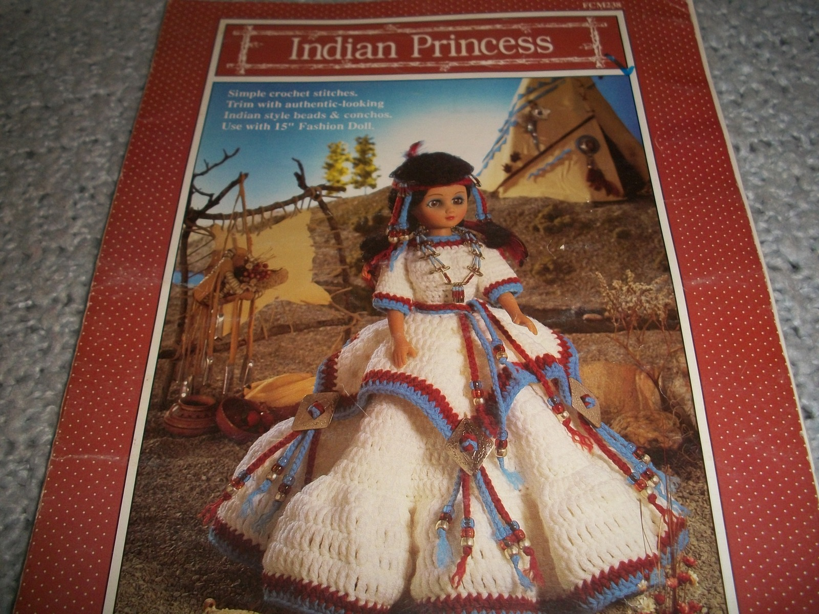 Primary image for Indian Princess Crochet Dress Pattern