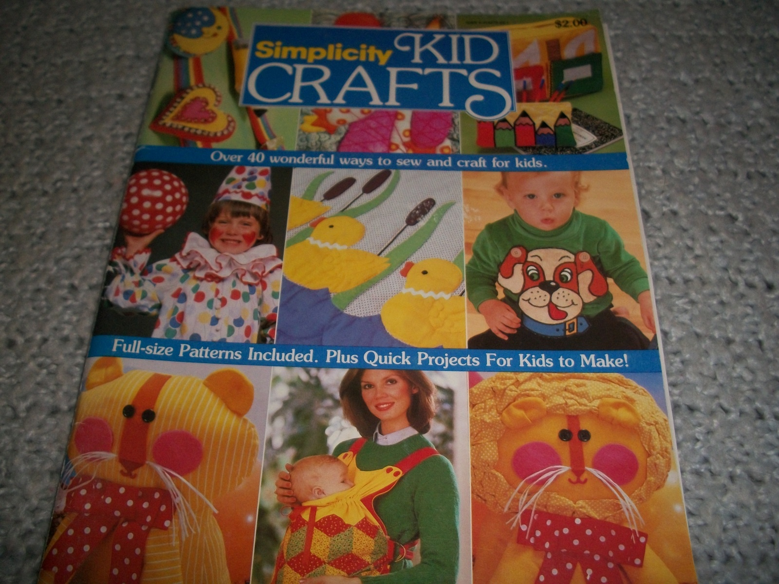Primary image for Simplicity Kid Crafts