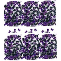 100 Rhinestones PURPLE Tiny new lots Arts Crafts BOWS - $4.75