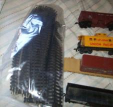 Vintage HO Backmann LifeLike Santa Fe Union Pacific Train Set image 4