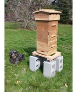 Warre Bee Hive - NEW AOKA Farm - CEDAR 3 Box Hive *Fully Assembled - $250.00