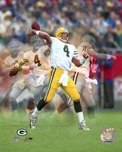 Brett Favre ME Green Bay Packers Vintage 8X10 Color Football Memorabilia... - $6.99