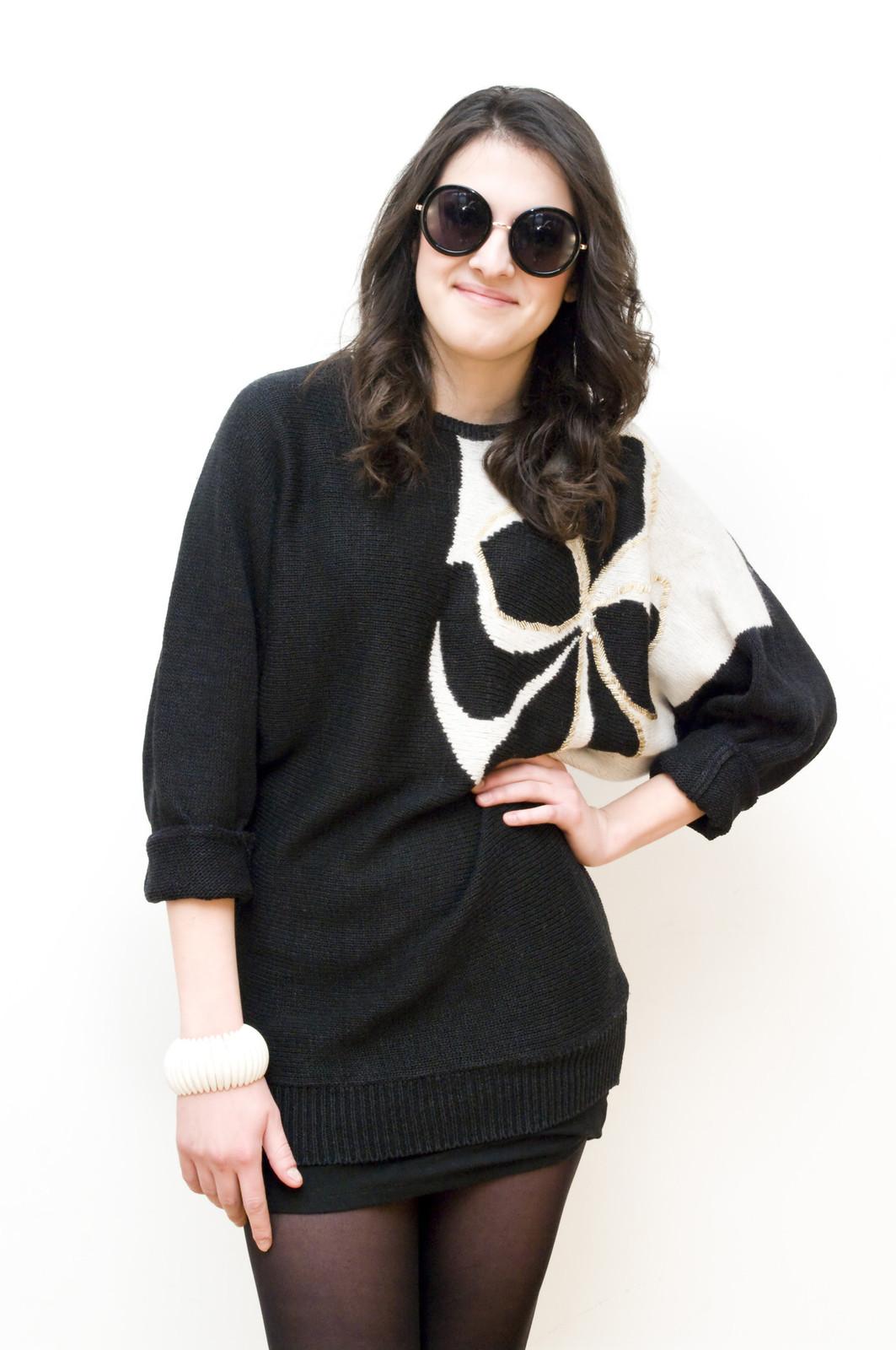 Bat sleeve sweater - $13.81