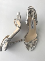 JIMMY CHOO Snake Skin heels 39 Stiletto pumps sandals shoes $1,295 stunning - $460.75