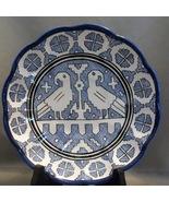 Beautiful LABOR Deruta Blue and Black Wall Plate  - $15.00
