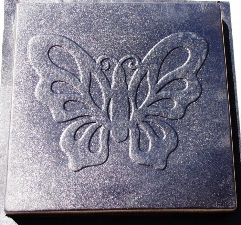 """2+1 FREE - Butterfly Stepping Stone Concrete Molds 18x2"""" Make For About $2.00 Ea"""