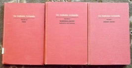 All 3 Volumes of The Explicator Cyclopedia Modern Poetry, Traditional, P... - $9.99