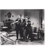 3 Stooges Arm Lock Moe Larry Curly Vintage 8X10 BW TV Memorabilia Photo - $4.99