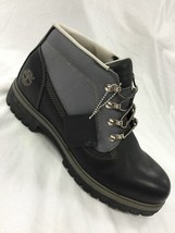 Men's Timberland Campsite Black Smooth Boot 13049 - $111.75