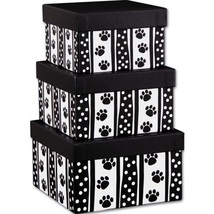 Polka Dot Paws 3-Piece Nested Square Box Sets - €10,06 EUR