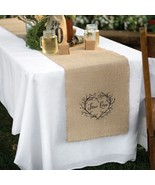 True Love Burlap Table Runner - 14in. X 120in. - Set of 5 - $101.95