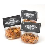 Chalkboard Style Treat Bags and Card Toppers (pack of 100) - $78.95