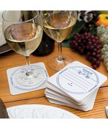 Advice for the Mr. & Mrs. Coasters - Pack of 50 - $62.95