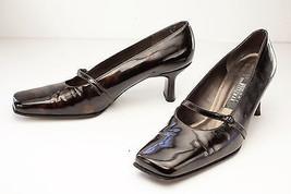 Stuart Weitzman 7.5 Brown Mary Jane Pumps Women's Shoes - $89.00