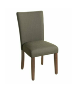 """HomePop Parson Classic Accent Single Dining Chair (Grey, 19""""L x 23.5""""W x... - $38.12"""