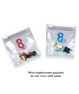 Replacement Pouches for Day/Night Pill Organizer Set of 4 - $12.99